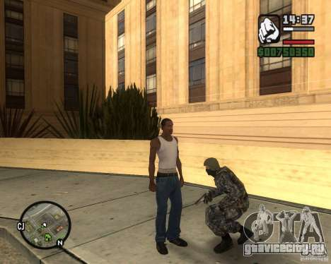 Русский ОМОН для GTA San Andreas второй скриншот