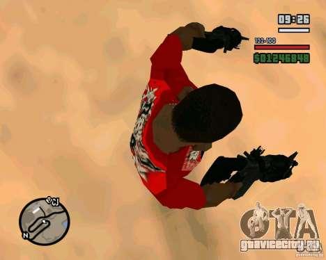 Black Ops Commando для GTA San Andreas третий скриншот