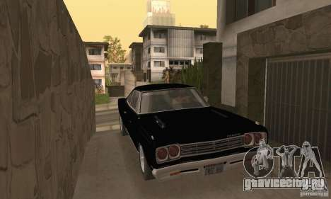 Plymouth Roadrunner 383 для GTA San Andreas