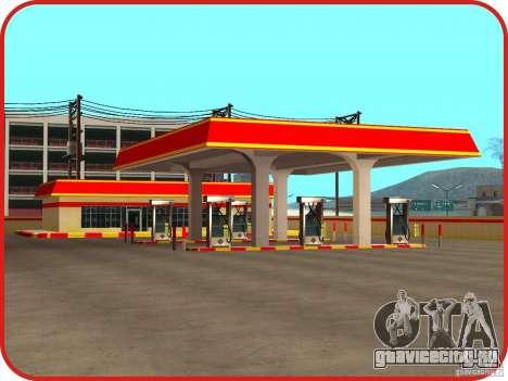 Новая заправка Shell для GTA San Andreas третий скриншот