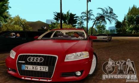 Audi A3 Sportback 3.2 Quattro для GTA San Andreas вид сзади слева