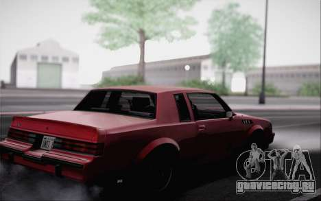 Buick GNX 1987 для GTA San Andreas