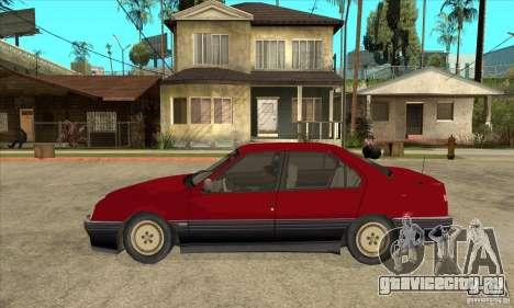 Alfa Romeo 164 для GTA San Andreas вид слева
