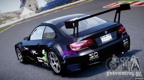 BMW M3 GT2 Drift Style для GTA 4 вид сверху