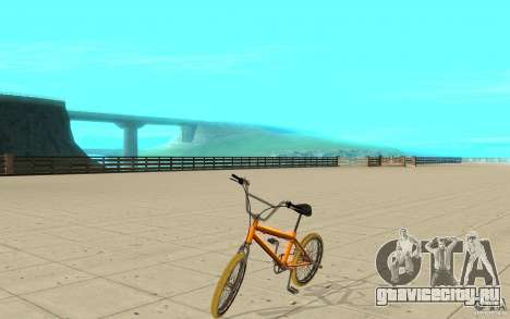 Zeros BMX YELLOW tires для GTA San Andreas