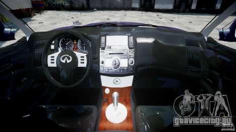 Infiniti FX45 2006 [Beta] для GTA 4 вид справа