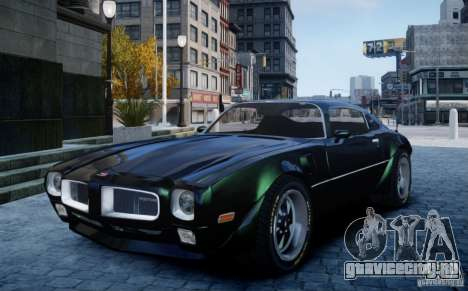 Pontiac Firebird 1971 для GTA 4
