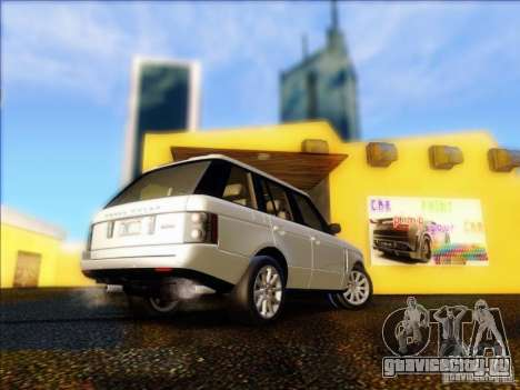 Land-Rover Range Rover Supercharged Series III для GTA San Andreas вид справа
