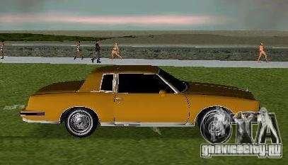 Pontiac Grand Prix для GTA Vice City вид слева
