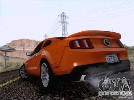 Ford Shelby Mustang GT500 2010 для GTA San Andreas вид слева
