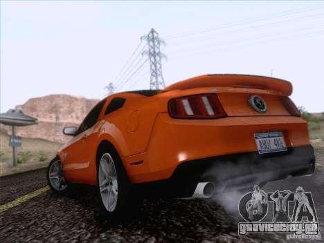 Ford Shelby Mustang GT500 2010 для GTA San Andreas вид слева