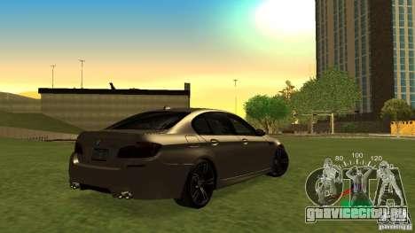 Спидометр от Lada 2110 для GTA San Andreas третий скриншот