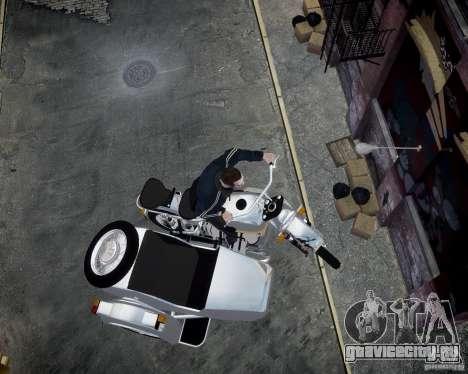 Урал М-67 для GTA 4 вид сбоку
