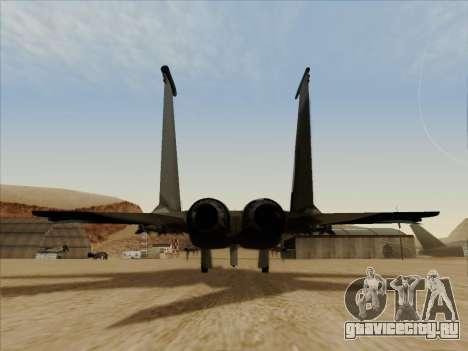 F-15C для GTA San Andreas вид справа