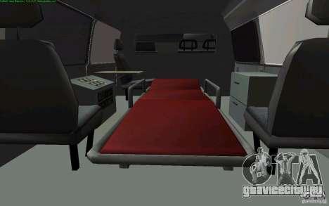 ГАЗель 22172 Скорая помощь для GTA San Andreas вид справа