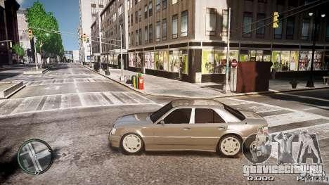 Mercedes Benz W124 E500 для GTA 4 вид слева