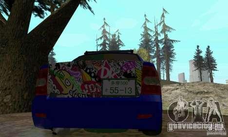 ВАЗ 2170 JDM для GTA San Andreas вид сзади