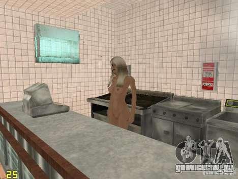 Cluckin Bell Girls XXX для GTA San Andreas