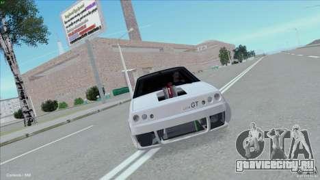 ВАЗ 2108 Sport для GTA San Andreas вид сзади слева
