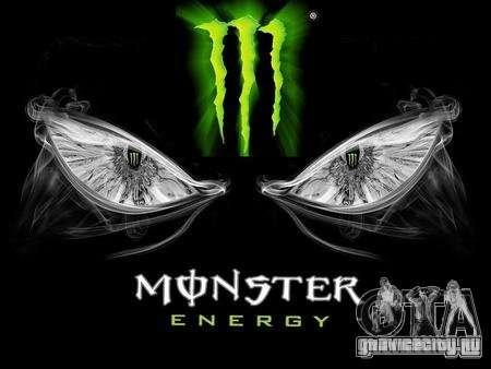Загрузочные экраны Monster Energy для GTA San Andreas второй скриншот