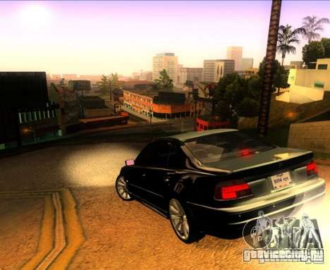 BMW M5 E39 для GTA San Andreas салон
