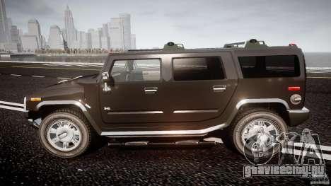 Hummer H2 для GTA 4 вид слева