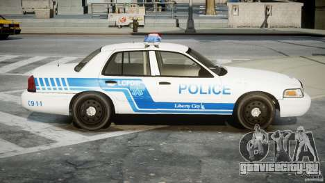 Ford Crown Victoria CVPI-V4.4M [ELS] для GTA 4 вид сзади