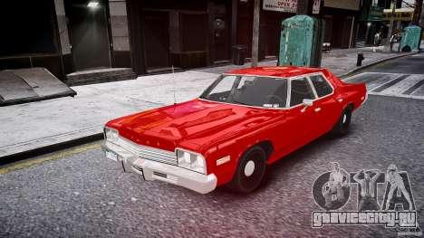 Dodge Monaco 1974 stok rims для GTA 4