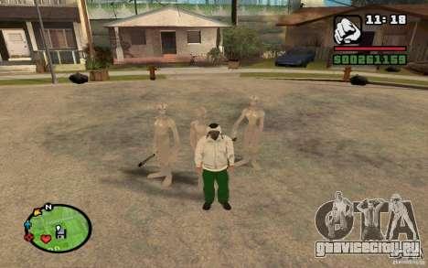 Пришельцы из ГРУВ для GTA San Andreas второй скриншот