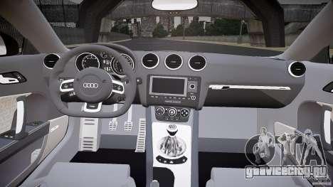 Audi TT RS v3.0 2010 для GTA 4 вид сзади