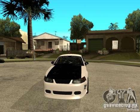 2003 Ford Mustang GT Street Drag для GTA San Andreas