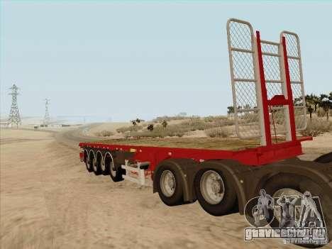 Прицеп к MAN TGX 8x4 для GTA San Andreas