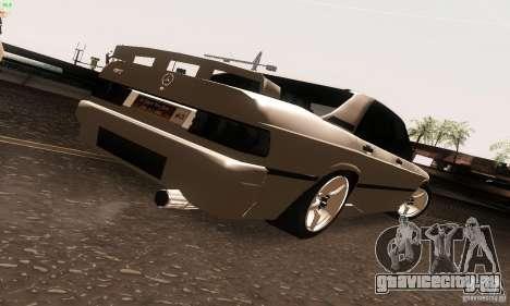 Mercedes-Benz 190E V2.0 для GTA San Andreas вид слева