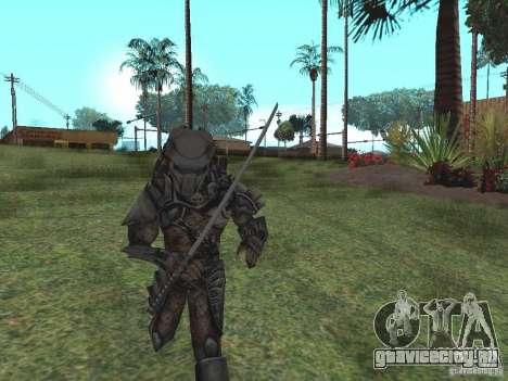 Хищник для GTA San Andreas второй скриншот