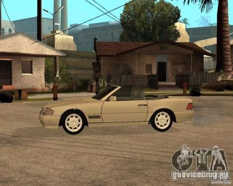 Mercedes-Benz 500SL для GTA San Andreas вид слева