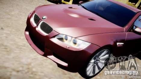 BMW M3 E92 для GTA 4 вид сбоку