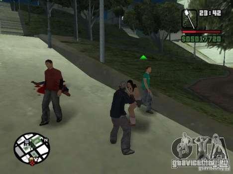 Туалетная Щетка для GTA San Andreas третий скриншот