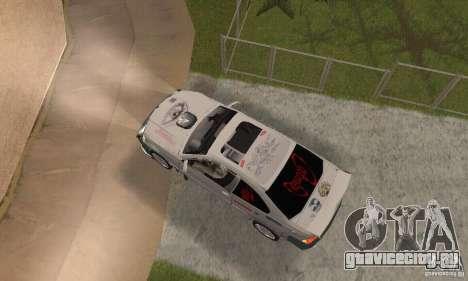 BMW M3 Hamman Street Race для GTA San Andreas вид справа