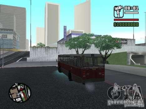 DAF CSA 1 City Bus для GTA San Andreas вид изнутри