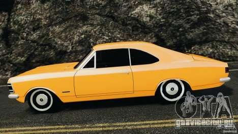 Chevrolet Opala Gran Luxo для GTA 4 вид слева