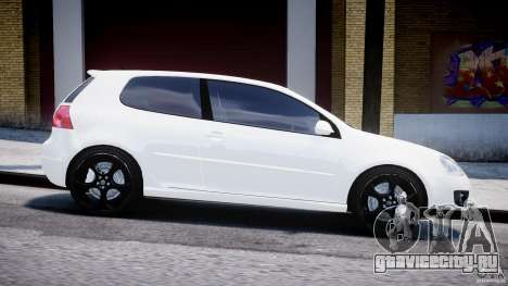 Volkswagen Golf 5 GTI для GTA 4 вид изнутри