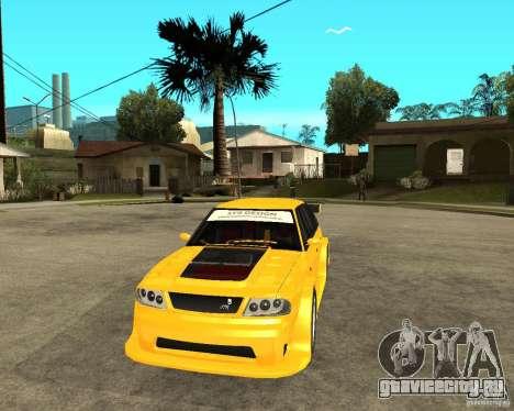 Москвич 2141 STR (HARD TUNING) для GTA San Andreas вид сзади