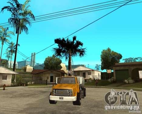Уборочный грузовик для GTA San Andreas вид сзади