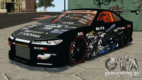 Nissan Silvia S15 HKS для GTA 4