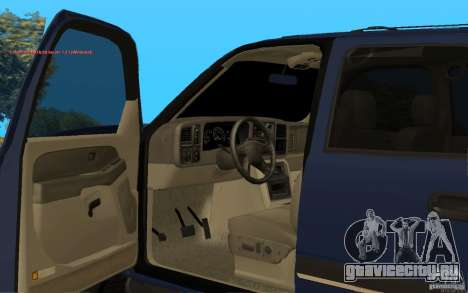 Chevrolet Suburban 2006 для GTA San Andreas вид справа