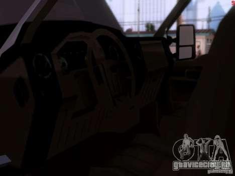 Ford F350 Super Dute для GTA San Andreas вид сзади