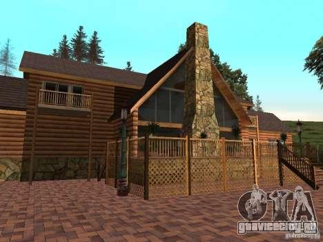 Новая Вилла для CJ для GTA San Andreas третий скриншот