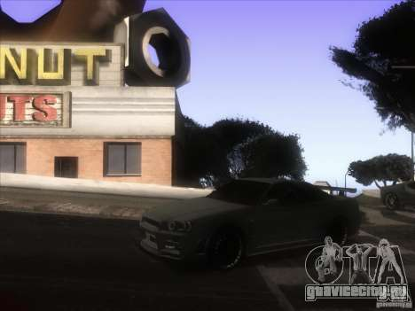 Enb из GTA IV для GTA San Andreas пятый скриншот