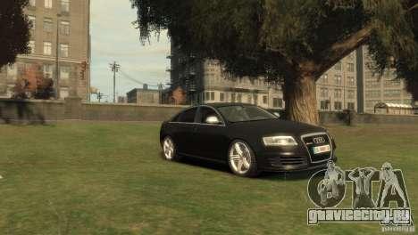 Audi RS6 v.1.1 для GTA 4 вид справа