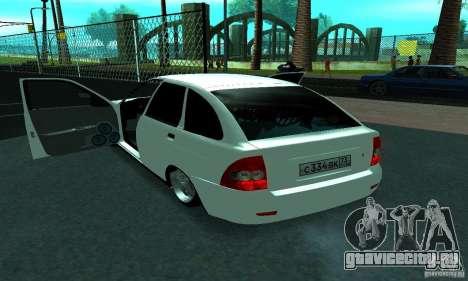 Lada Priora Sport для GTA San Andreas вид сбоку